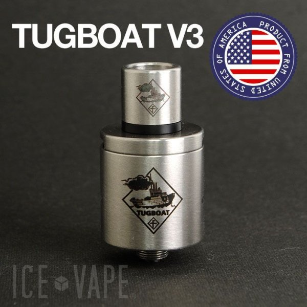 画像1: 【RDA】  TUGBOAT V3  【BRUSHED】 (1)