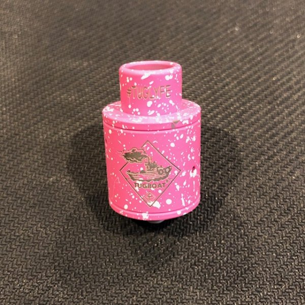 画像1: 【RDA】 TUGBOAT COMPETITION RDA / PINK/WHITE (1)