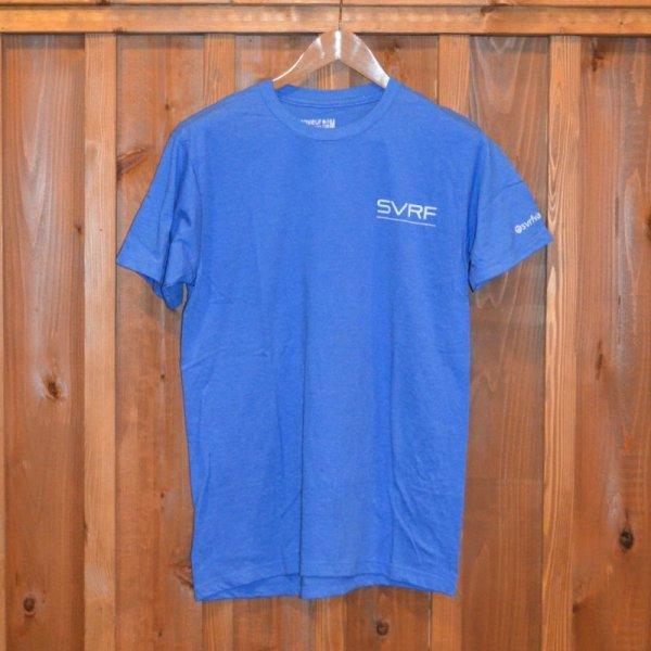 画像1: 【SVRF】 Tシャツ  BLUE (1)