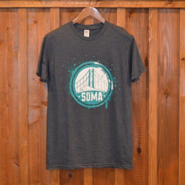 画像1: 【FRISCO】 Tシャツ / SOMA  GRAY (1)