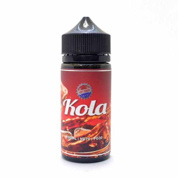 画像1: 【E-リキッド】Soft Drink - Kola 100ml ( ソフト ドリンク コーラ ) (1)