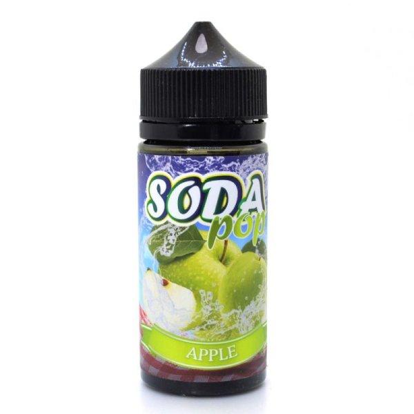 画像1: 【E-リキッド】Soda Pop アップル 100ml ソーダポップ (1)